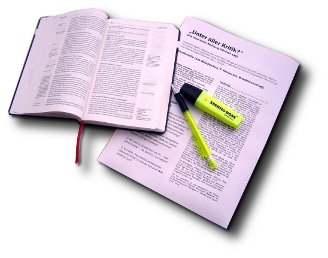 Bibelstudium freigestellt klein
