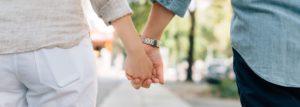 Banner Holding Hands