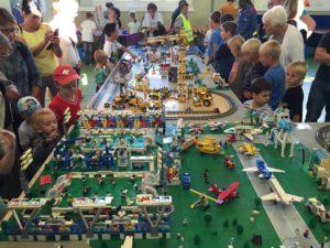 Lego-Stadt Fussball
