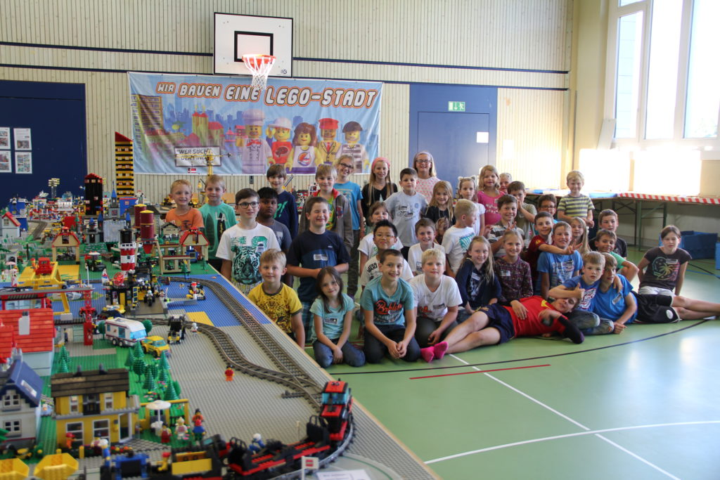 Lego-Stadt Bau-Teams